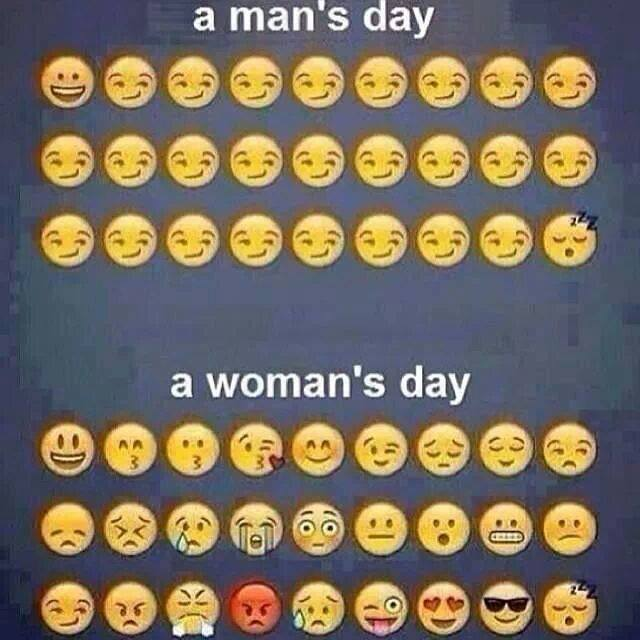 man vs woman